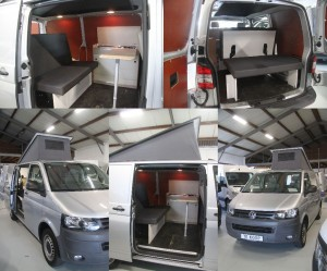 5. VW Transporter T5 2010 84.000km zilver 4x