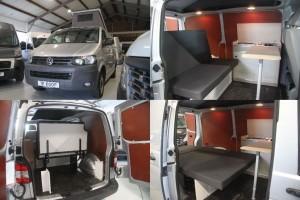 6. VW Transporter T5 2010 84.000km zilver 4x