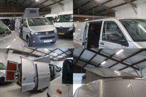 8. VW Transporter T5 2010 84.000km zilver 4x