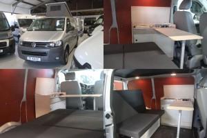 9. VW Transporter T5 2010 84.000km zilver 4x