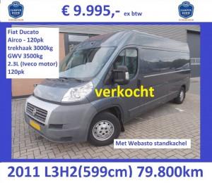 Ducato 2011-80 L3H2 blauwgrijs 9995 V2 verkocht