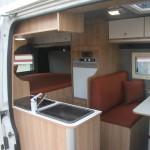 Fiat Ducato MH2 bed - cabine dinette zijdeur