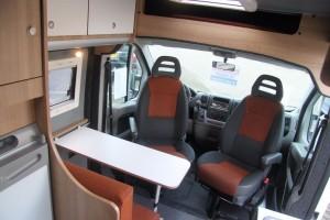 Fiat Ducato MH2 dinette - cabine 2