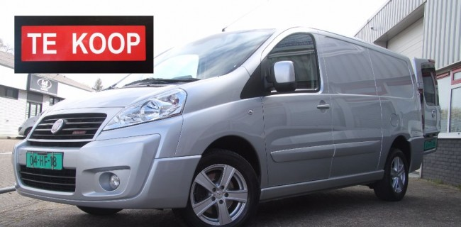 Fiat Scudo 11-165pk-79.000-te koop