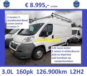 J016 Jumper L2H2 2009 126.900 3.0 160 wit 8995 STD VERKOCHT