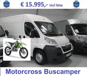 Jumper 20110-98-3.0-160 Motorcross camper 15995 + motor Tekst