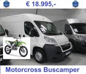 Jumper 20110-98-3.0-160 Motorcross camper 18995 + motor Tekst