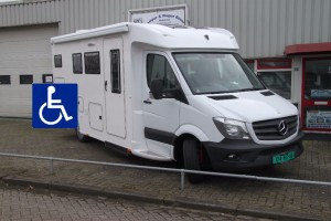 MB Sprinter 316 new rolstoel logo