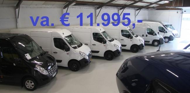 Renault Master 3x prijs 11.995