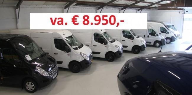 Renault Master 3x prijs 8950