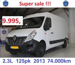 STD voor PRIJS auto advertetie Master R017 SUPERSALE 9995 prijs
