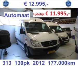 STD voor PRIJS auto advertetie Sprinter M015 11.995,-
