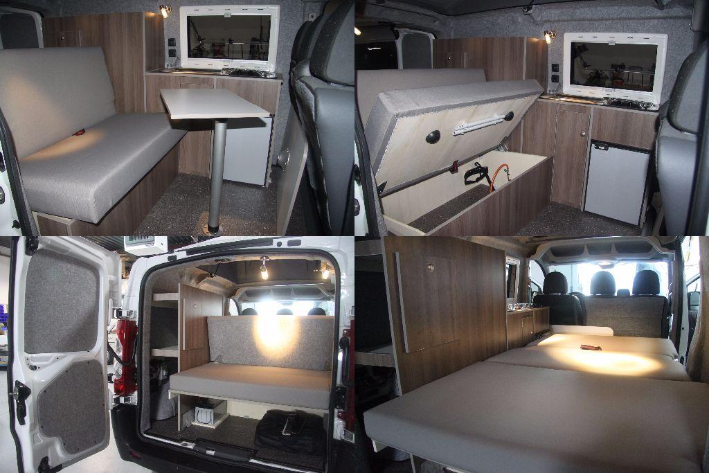 TRavel-Van 310 jumpy interieur 4x