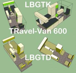 TRavel-Van 600 4x LBGTK - LBGTD tekst